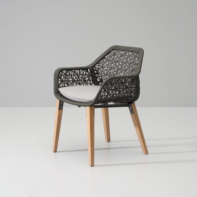 Maia Rope Dining Armchair