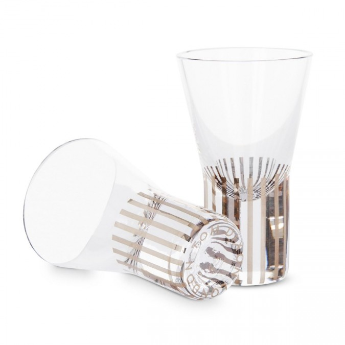 Tank Shot Glasses Platinum