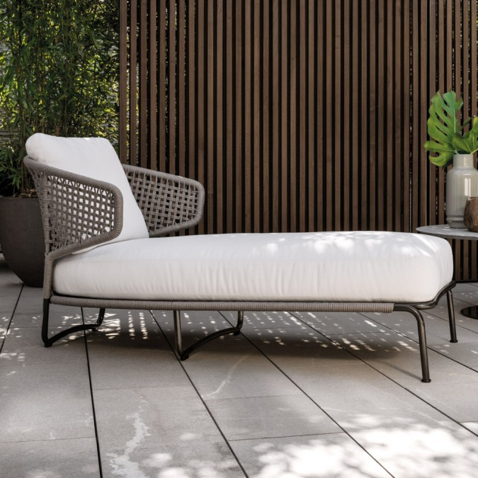 Aston Cord Chaise Lounge