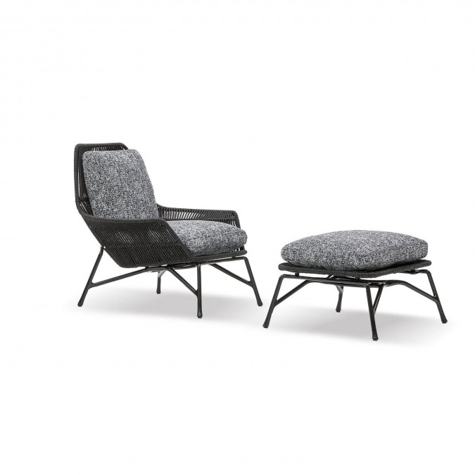 Prince Cord Outdoor Armchair