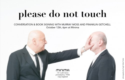 Please Do Not Touch – Book Signing