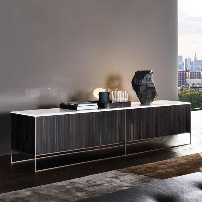 Calder Bronze Credenza (Immediate Delivery)
