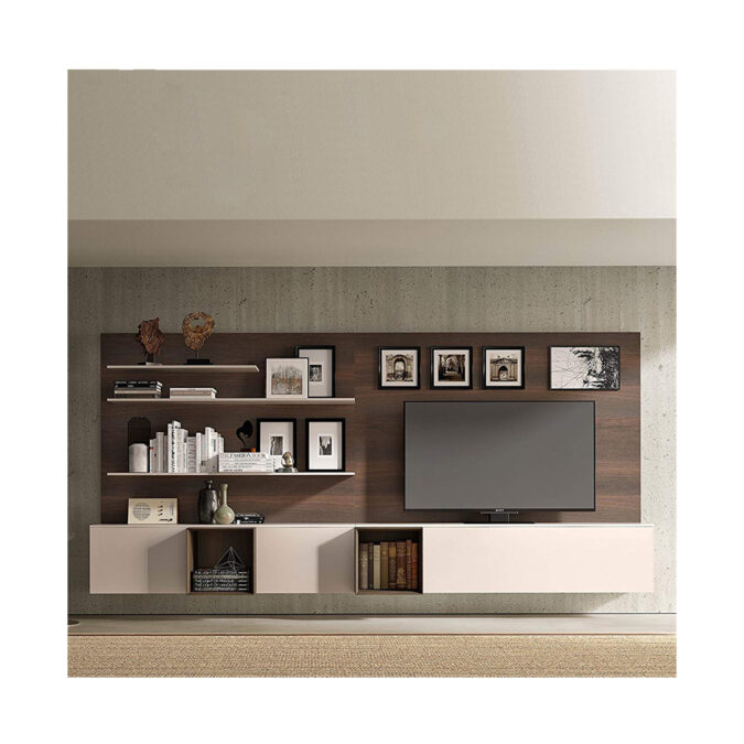 Spazio Wall Unit – Quick Ship